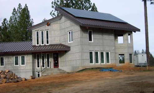 House in High Sierras