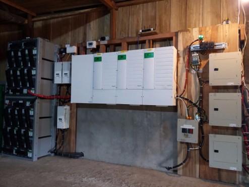 Kapawi Inverters and batteries